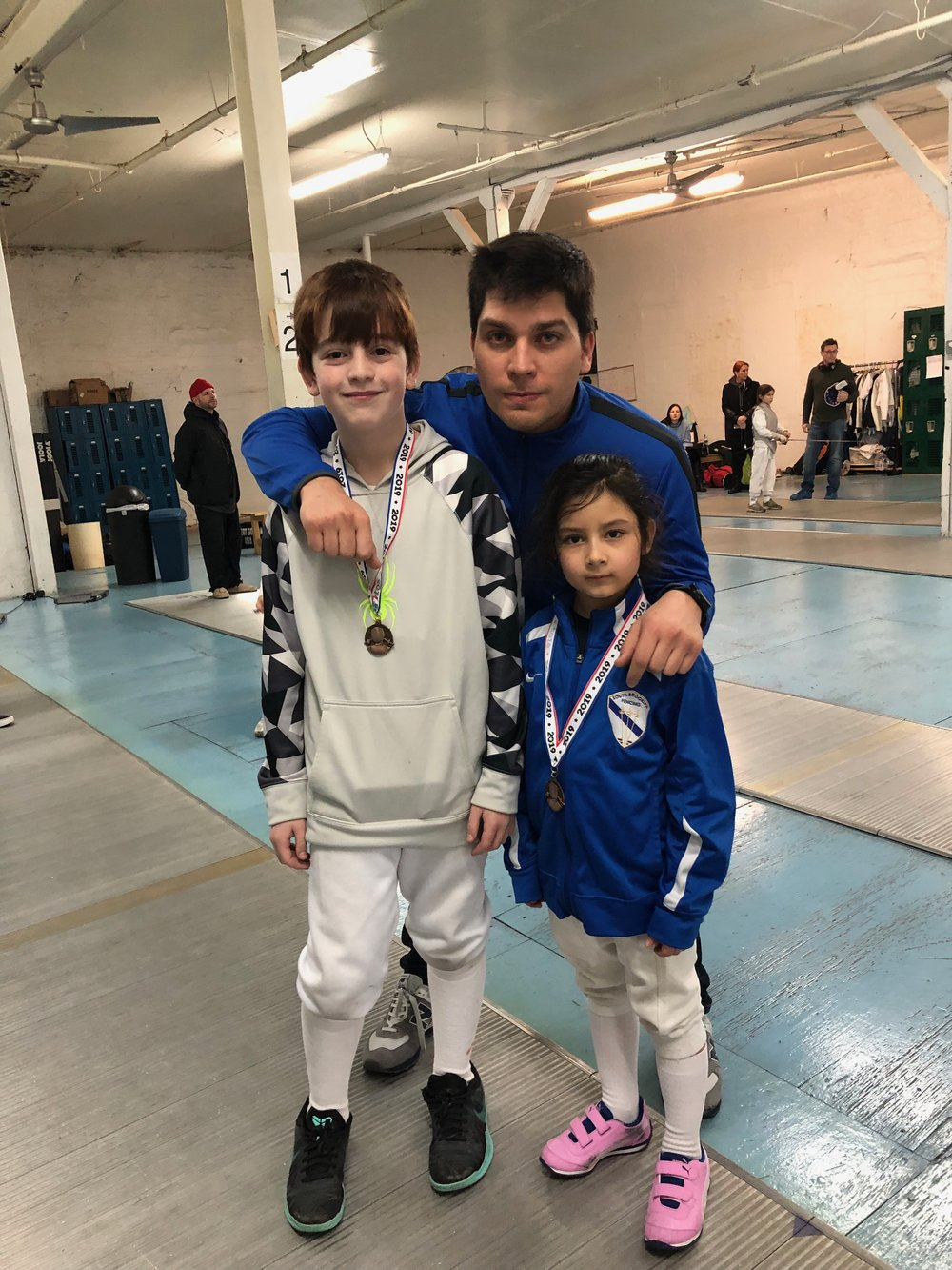 Brooklyn Youth Tournament  Emily Cascone 3rd place Y10 mixed Robert Gofman 5th place Y10 mixed  January 13th 2019