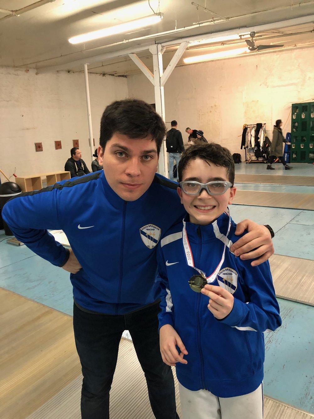 Brooklyn Youth 12 Sebastian Garcia 1st place   March  2nd 2019