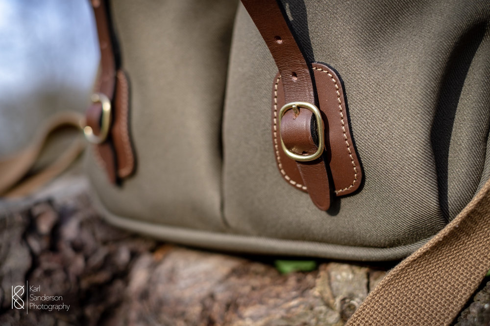The length of the straps can be adjusted to allow for increased volume within the bag.
