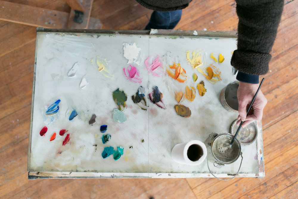 Amy Brnger - Painter. Portsmouth, NH.