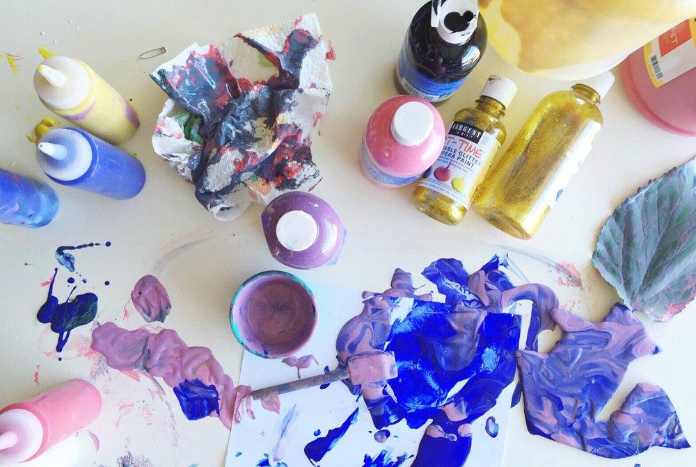 Messy Studio Scene