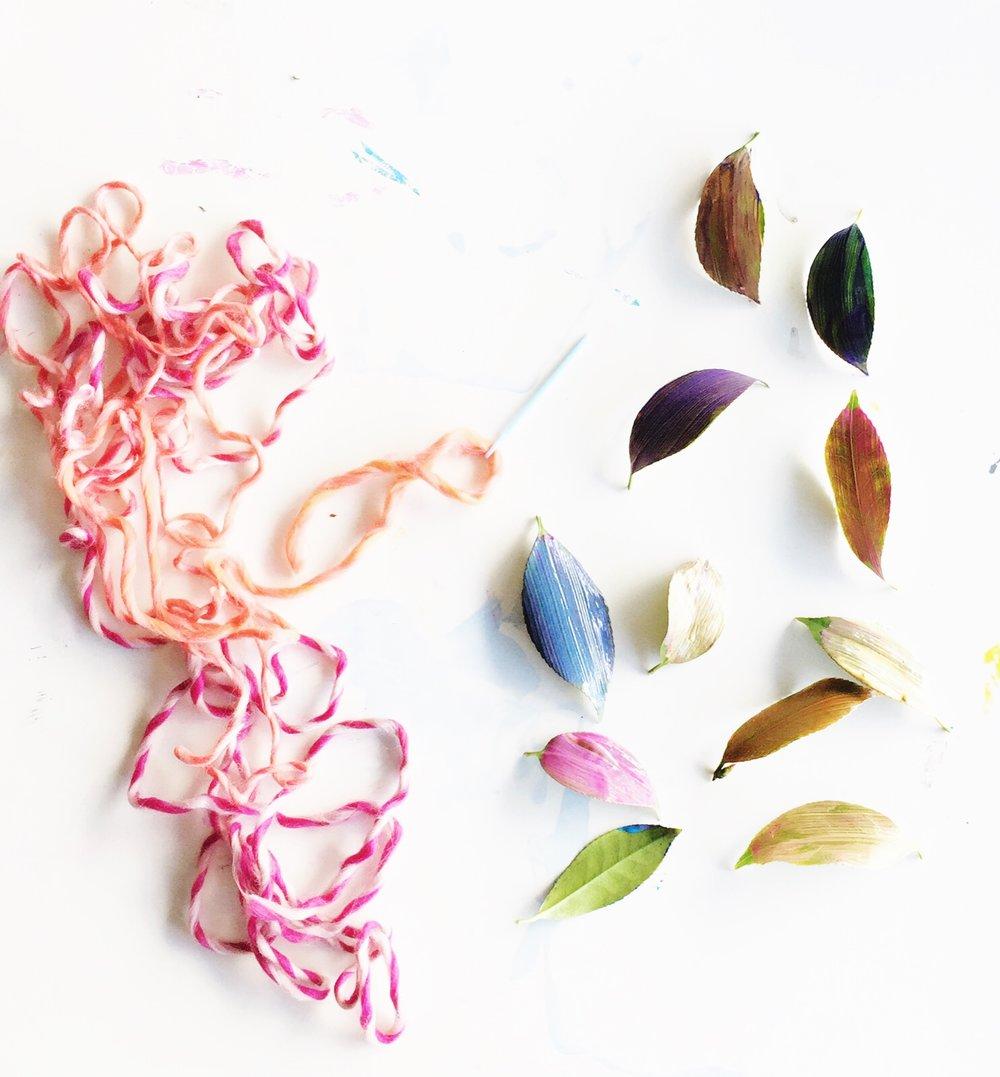 Sewing Leaves