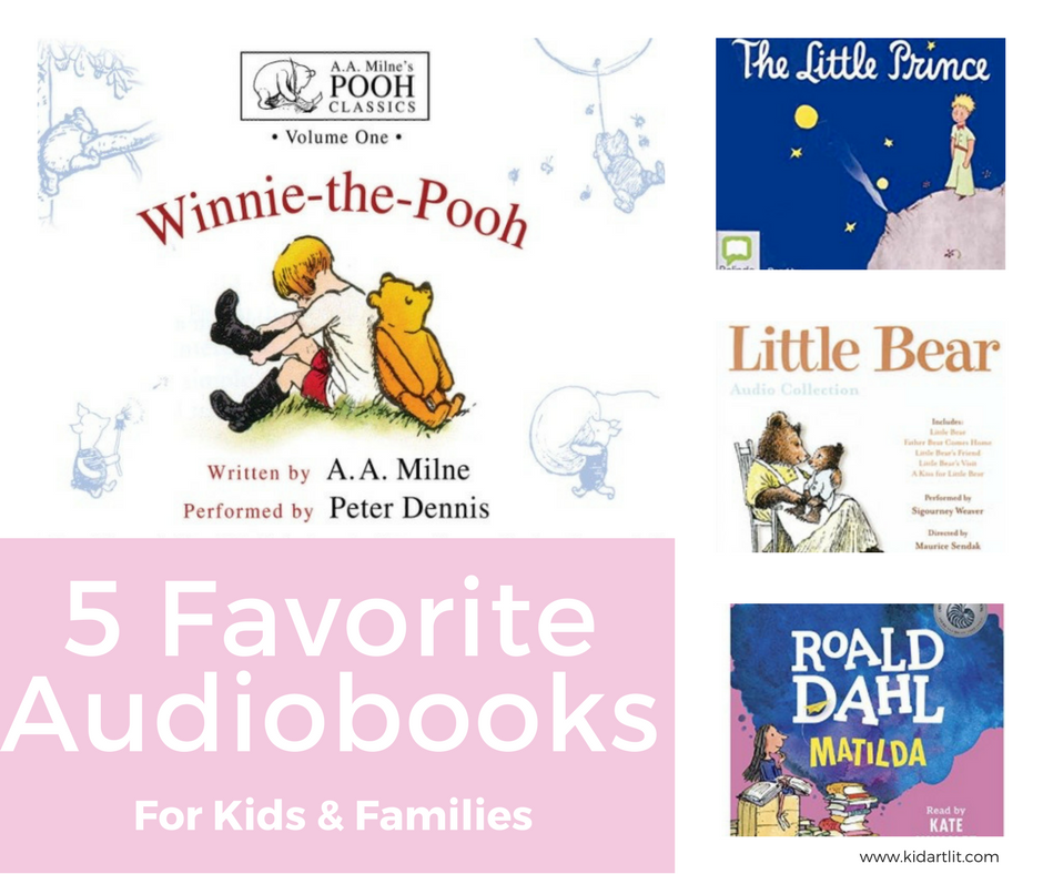 Audiobooks for kids and families