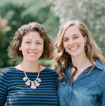 Julia and Megan KidArtLit Founders