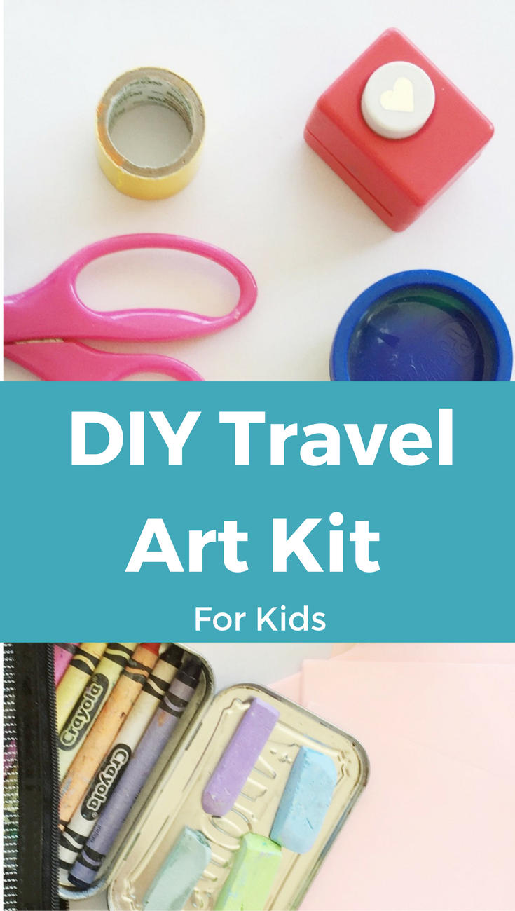 DIY Travel Art Kit for Kids
