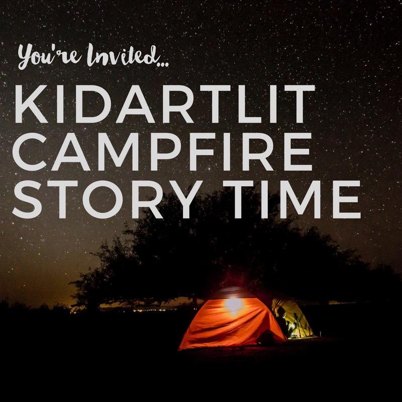 KidArtLit Campfire Storytime