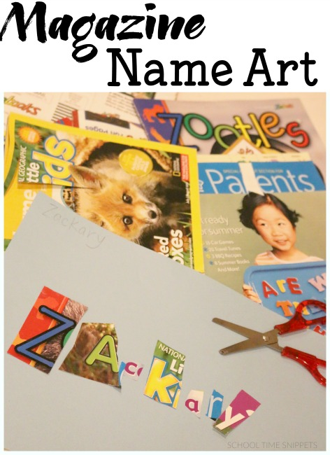 NAME ART COLLAGES
