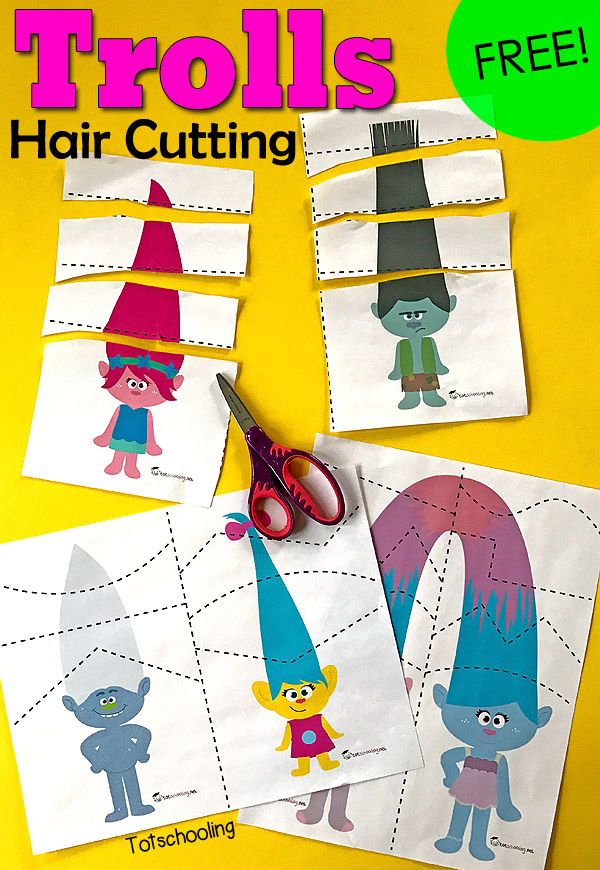 FREE TROLLS CUTTING PACK