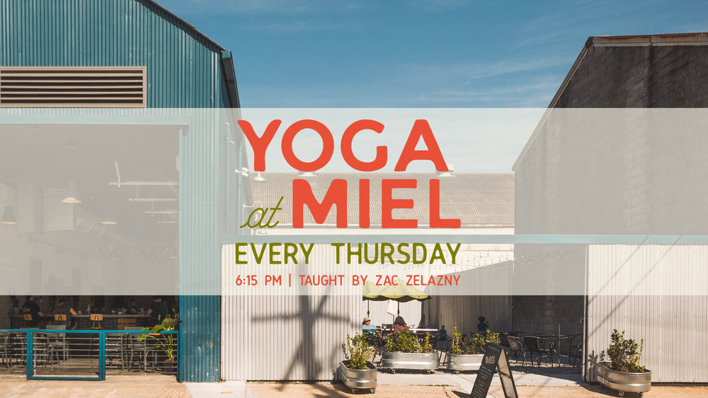 Yoga at Miel Brewery & Taproom in January