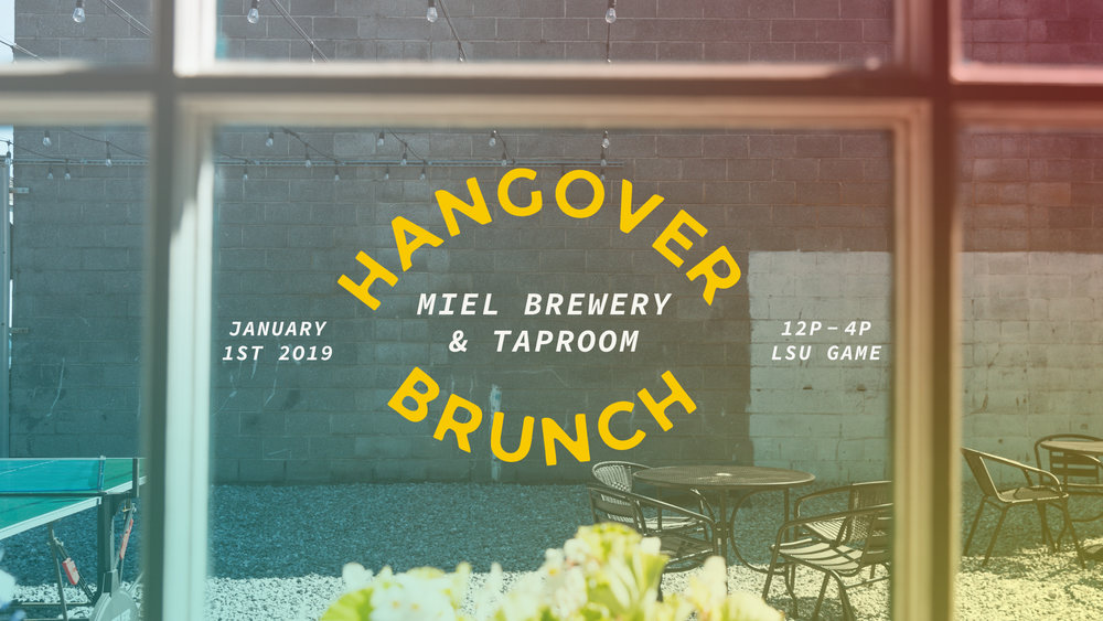 Miel Brewery_Hangover Brunch