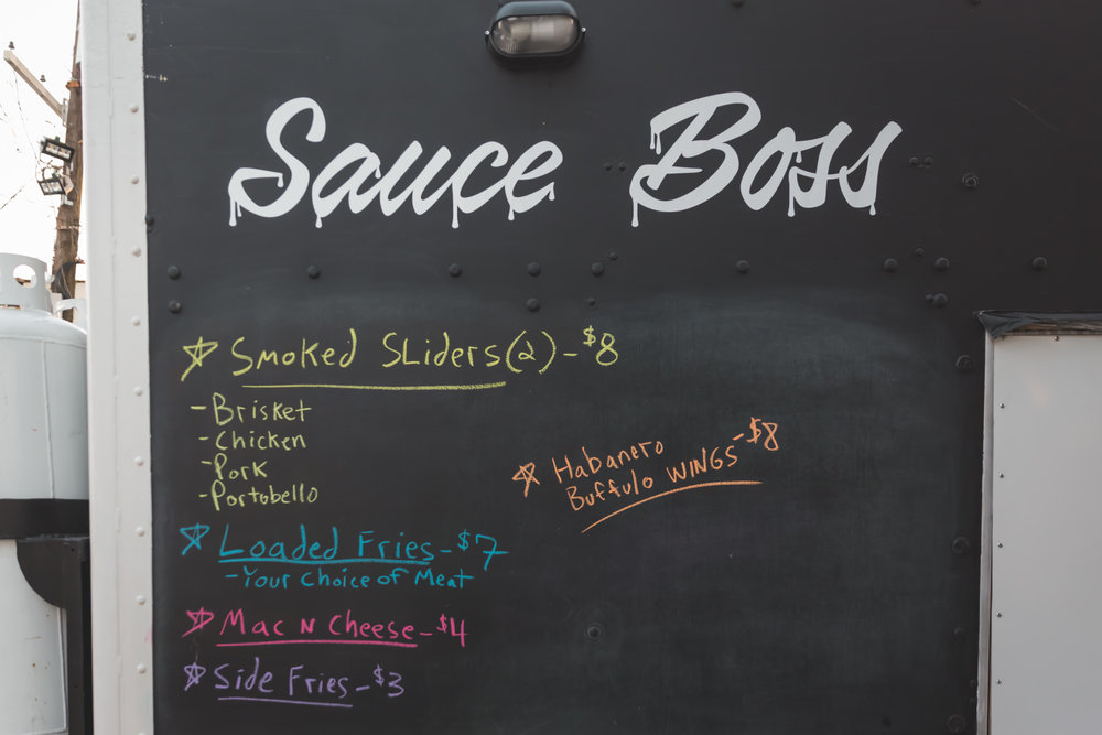 Miel Brewery_New Orleans_Sauce Boss Food Truck_Menu