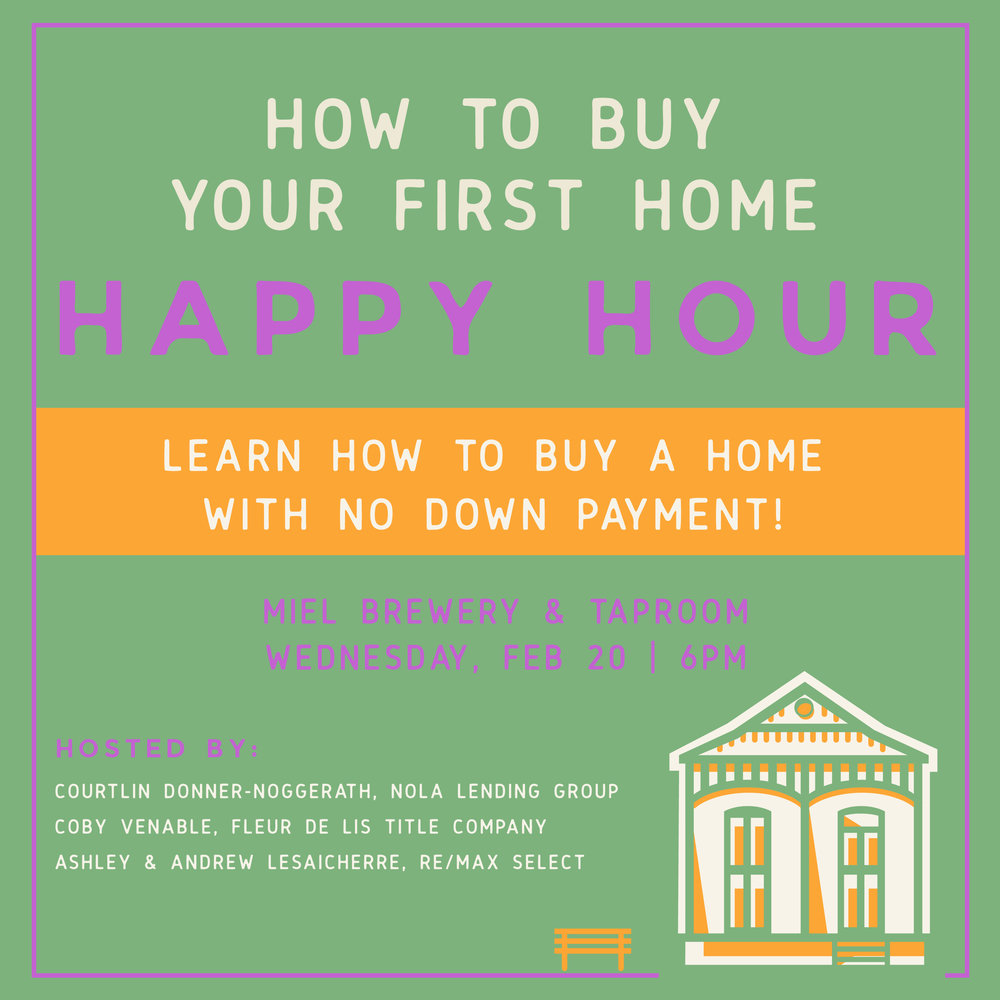 Miel Brewery_New Orleans_Homebuyer Happy hour
