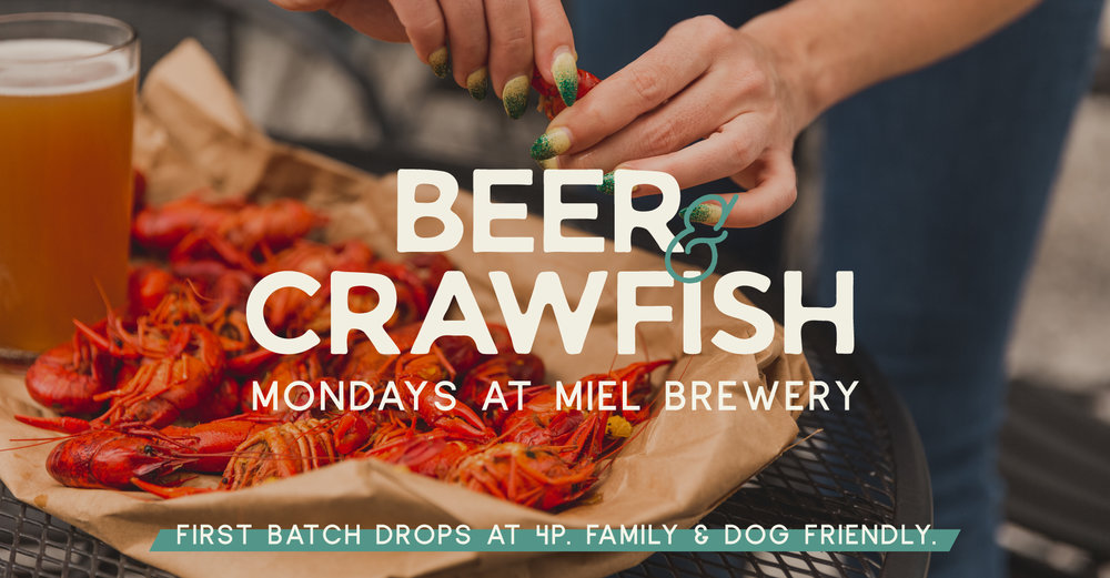 Miel Brewery_New Orleans_Monday Crawfish Boil