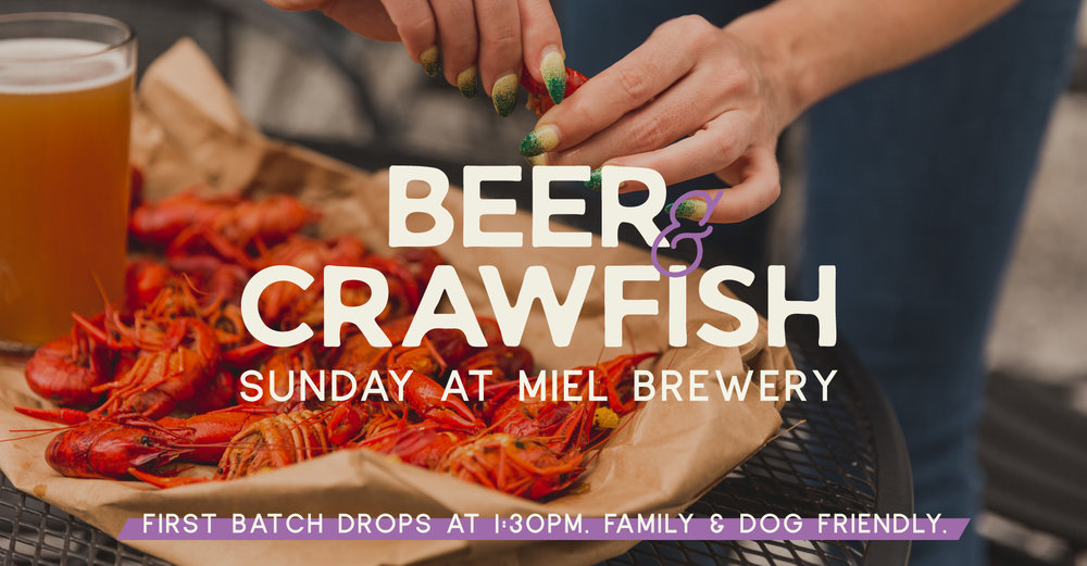 Miel Brewery_New Orleans_Beer and Crawfish Sunday