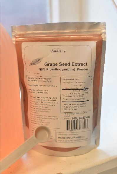Nice part about this extract power is that its edible. People use it as a mix in drinks.