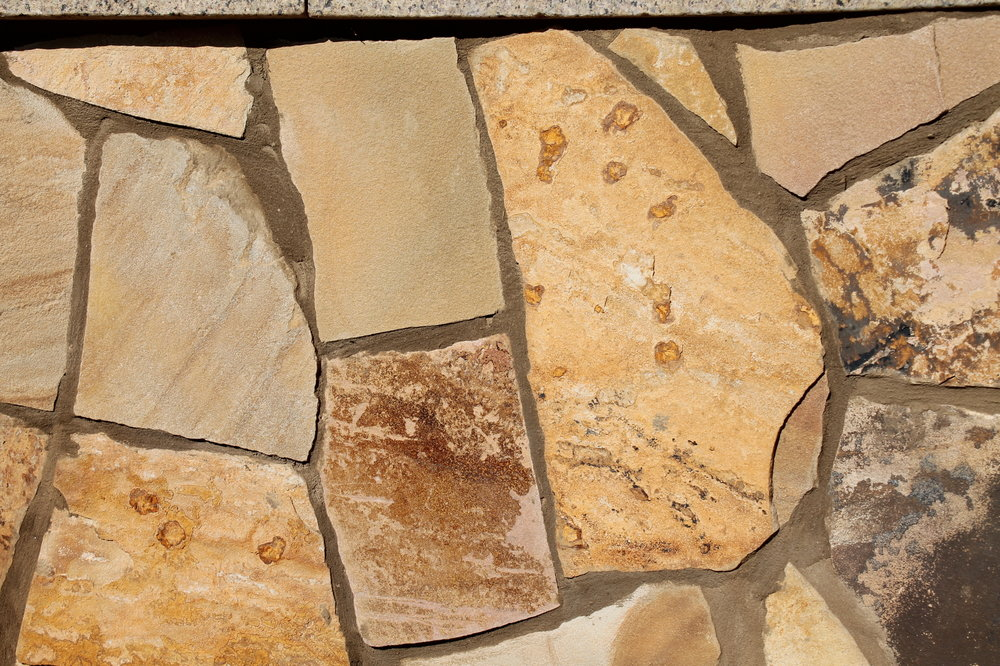 Thin Veneer Flagstone Installation
