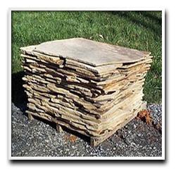 Thin Veneer Flagstone Pallet