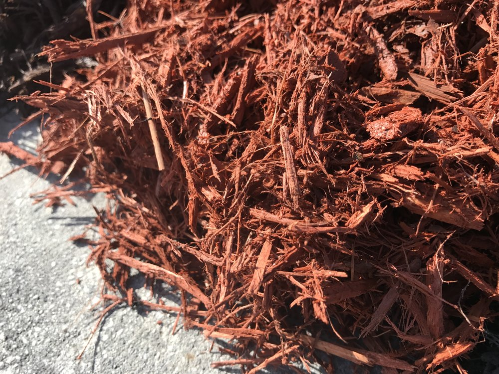 Red Mulch Texture