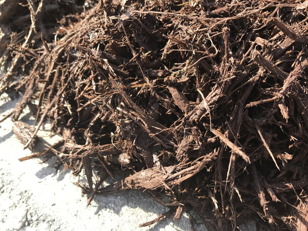 Brown Mulch Texture