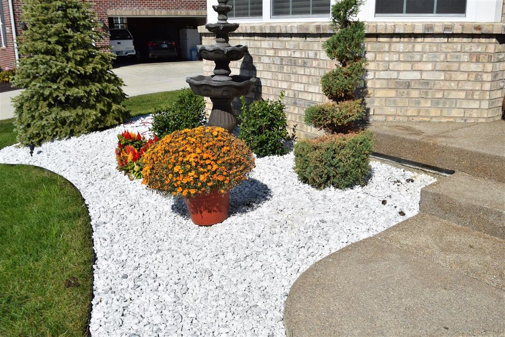 Marble Chips Luxury Landscape Supply