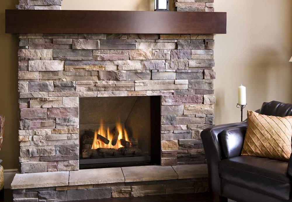 Fireplace Thin Veneer Facade