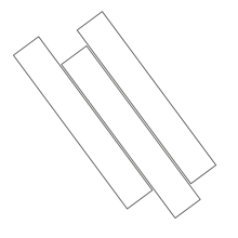 Planks 7.80 x 47.17 x ¾
