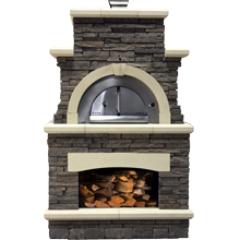 "Brick Oven 42 ½""D x 53 ¼""W x 92""H (Special Order)"