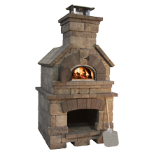 Brick Oven  4'D X 4'W X 8'1'H (Special Order)