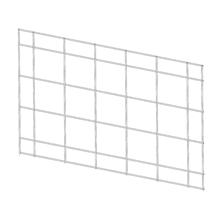 Horizontal Grid 28 ⅜ x 42 ½ Can be installed horizontally and vertically.