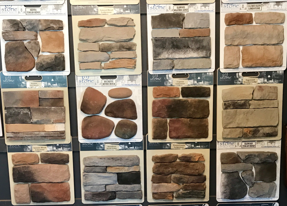 DUTCH QUALITY  - As a sister company to El Dorado, they carry great quality stones and they also have a good selection to choose from. They are also a little more affordable and can save you some money on your project!