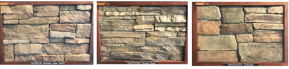 Basic Style Options That You Will Commonly See Are Stacked Stone,  Ledgestone, Or Fieldstone Veneers As Shown Below.