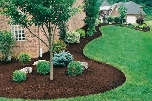 Mulch - Freshen it up! Add a couple inches of fresh mulch or replace it with a new color!