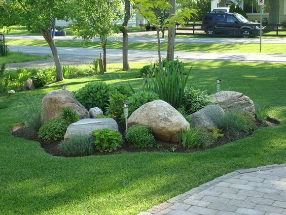 Accent Boulders - Add a rustic yet elegant touch to any plant bed with a few accent boulders. We have different sizes with all different types of character!