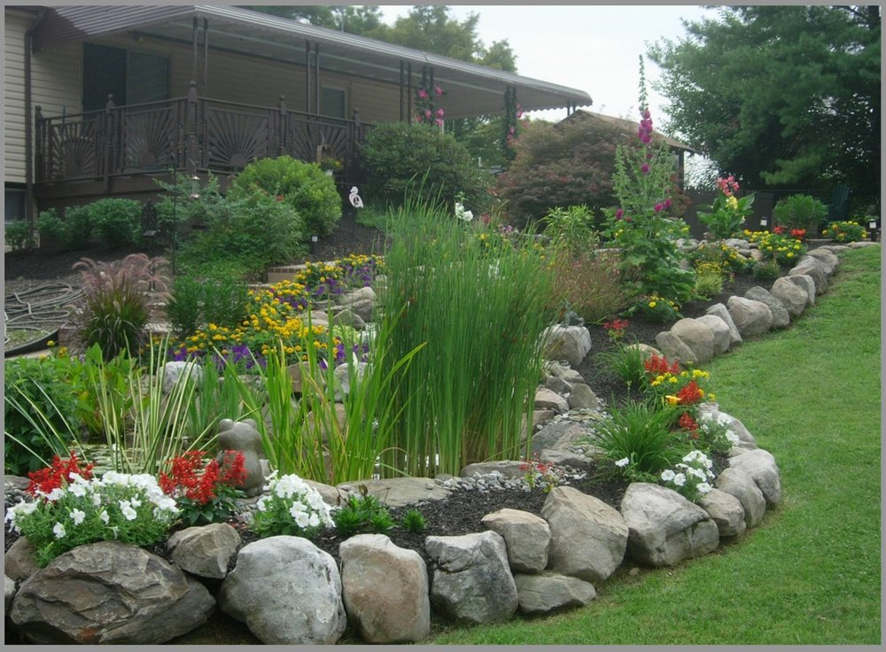 Garden Boulders - Come in various sizes and are weathered