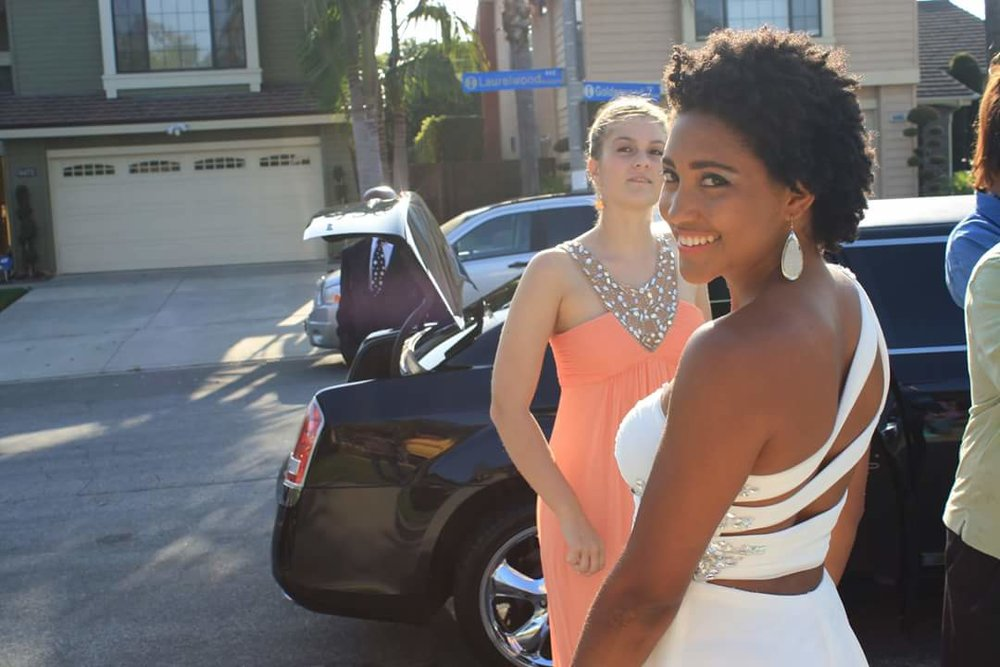 Prom day in L.A.! Can it get more american than that?!