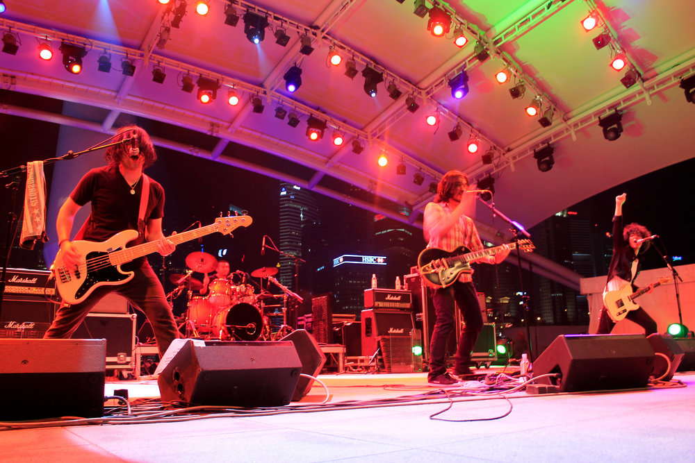 Nothing to Declare, a crowd favorite from Japan, at Baybeats.