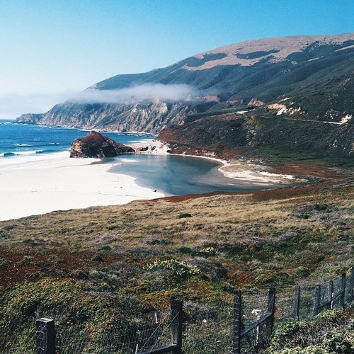 The drive through BIg Sur on Highway 1