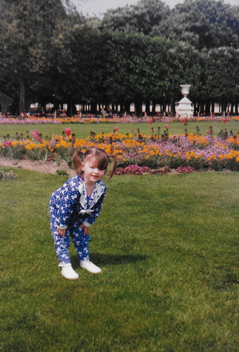 Me in Luxembourg Gardens circa 1994
