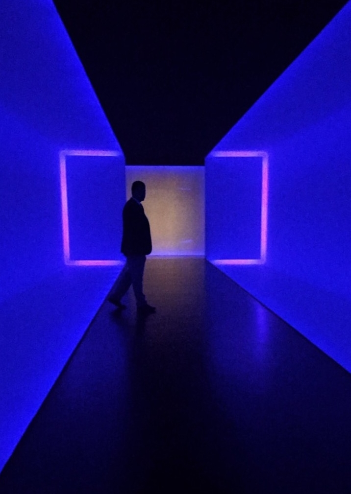 """James Turrell's """"The Light Inside"""" at Houston's Museum of Fine Arts."""