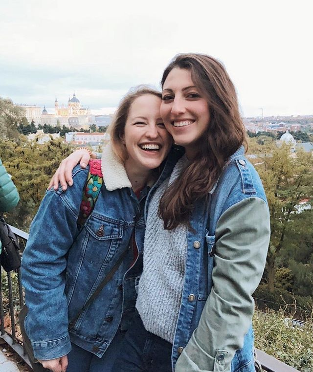 "if we had told our 12-year-old selves we'd be living in europe in our 20s we would've said, ""yeah that sounds about right"" 👯‍♀️"