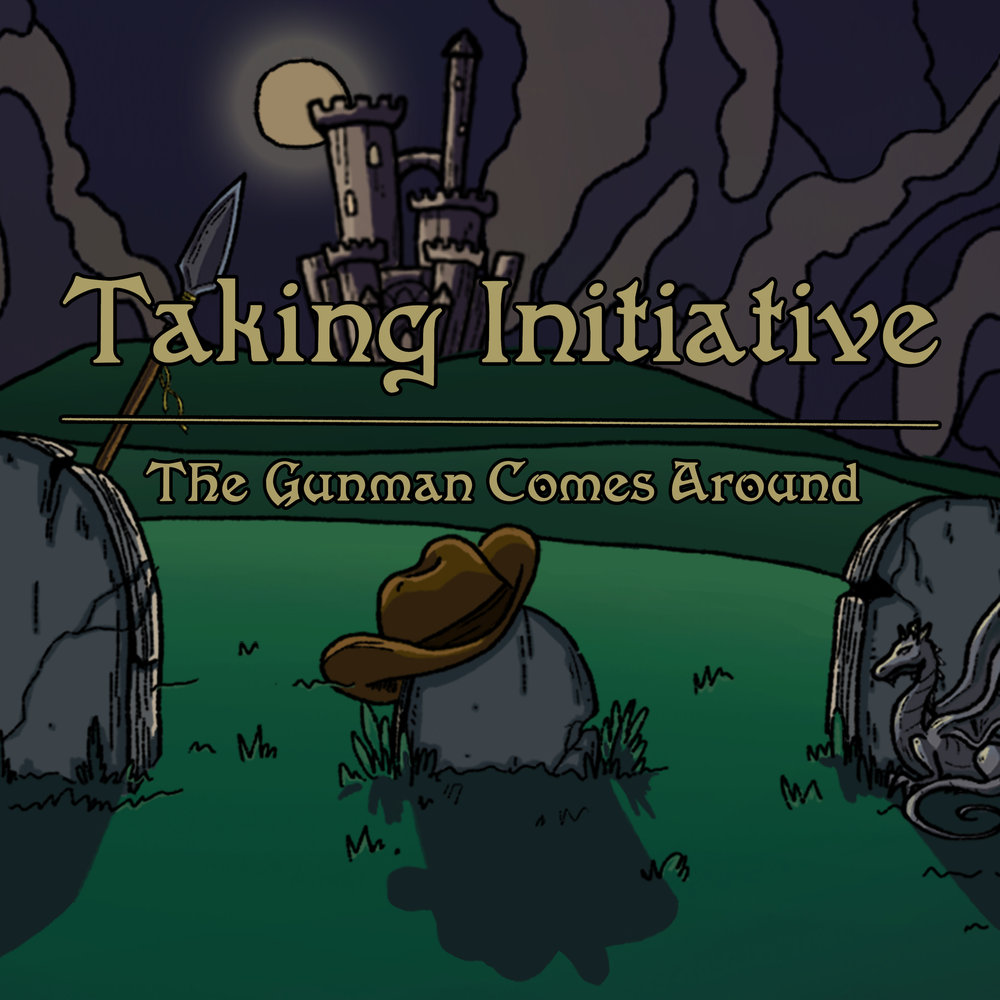 The Gunman Comes Around - Original Art by Kati KawaguchiModified for Arc by Josh Perault