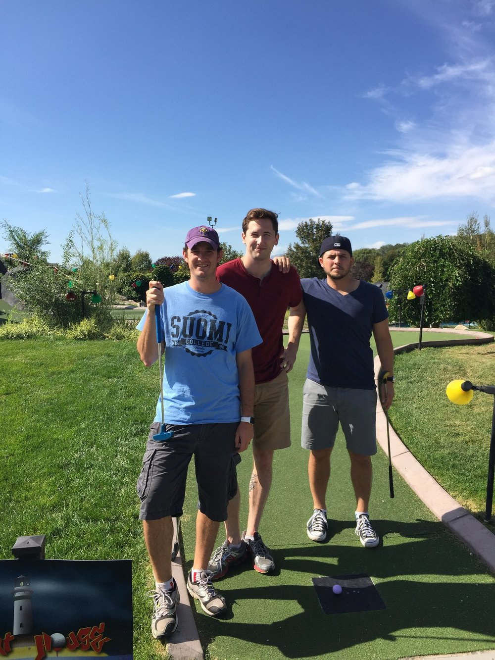 SALT LAKE CITY, UTAH -2015  The first trip in which all three off us flew in was not a state that will be soon forgotten. From the beautiful peaks in Park City to the unique small mountain towns along the way, it was a grand memory for all involved.  Winner: Tony.