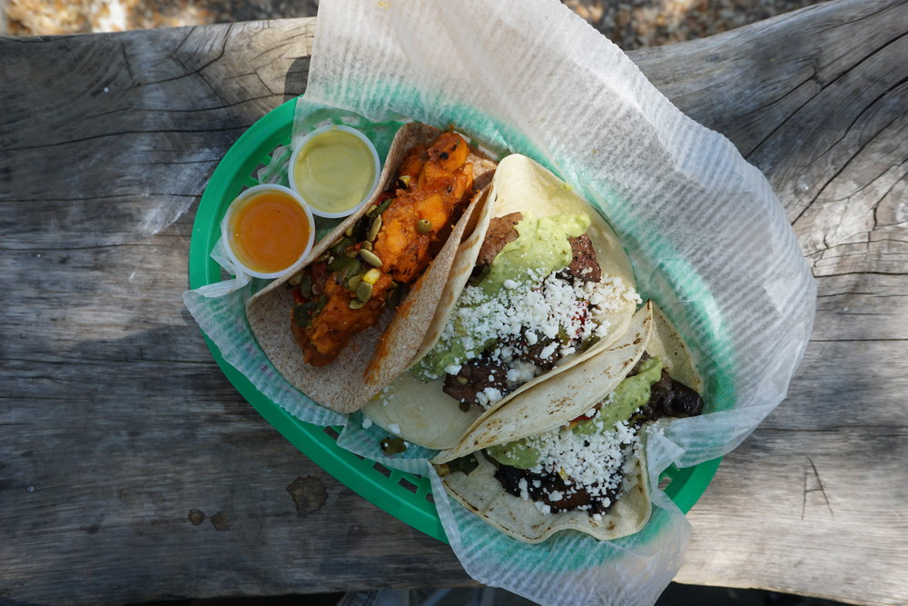 My favorite tacos in Austin: Tacodeli!