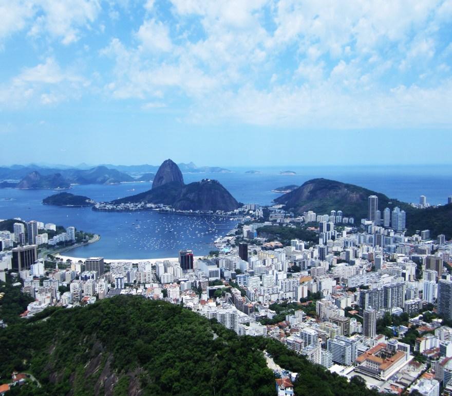 The view from Mirante Dona Marta