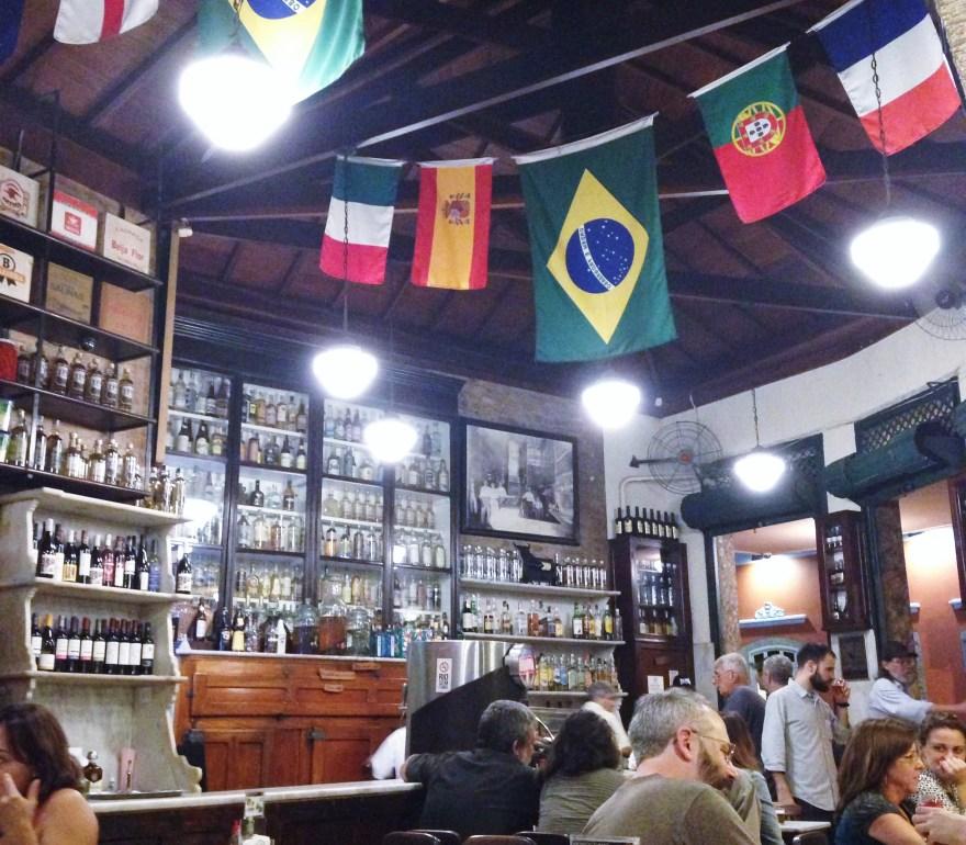 Don't miss a drink at Bar do Gomez, Santa Teresa neighborhood