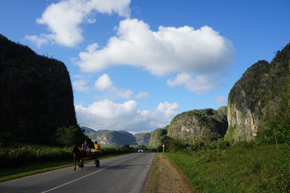 Bike ride through Valle de Viñales (Viñales Valley)