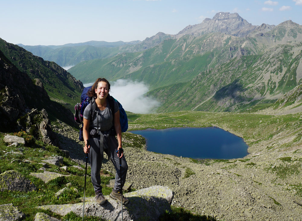 Hiking the Kackar Mountains in Turkey.