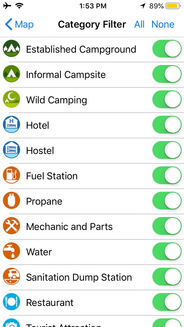 IOverlander App Screenshot 3