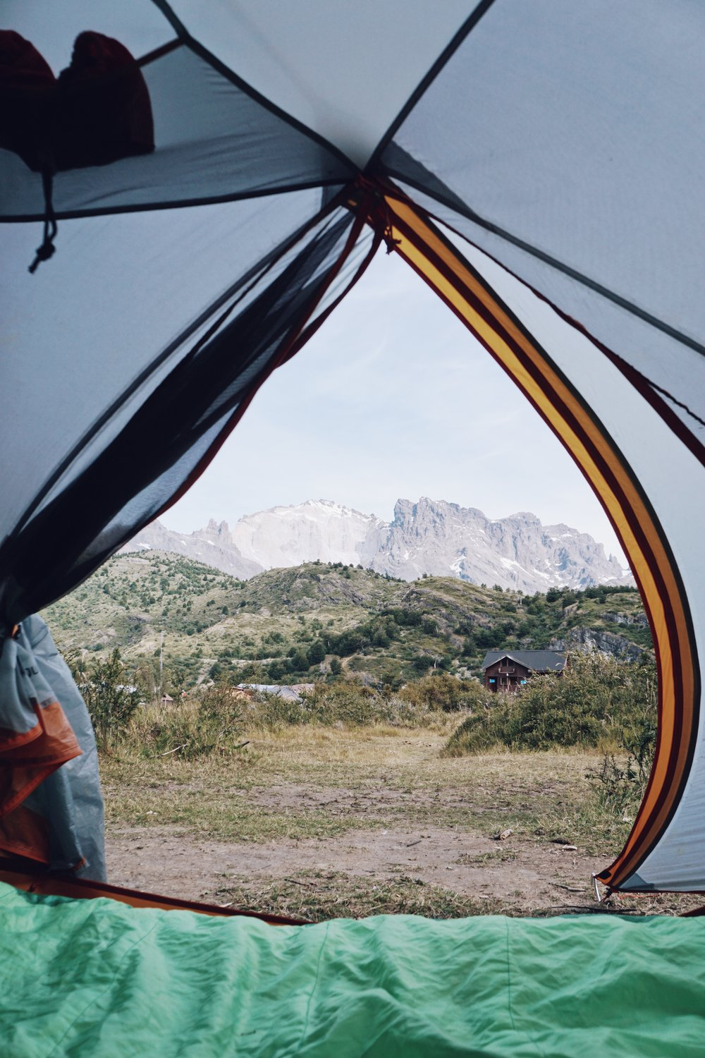 Room with a view: Dickson campsite is only accessible on the O-circuit.