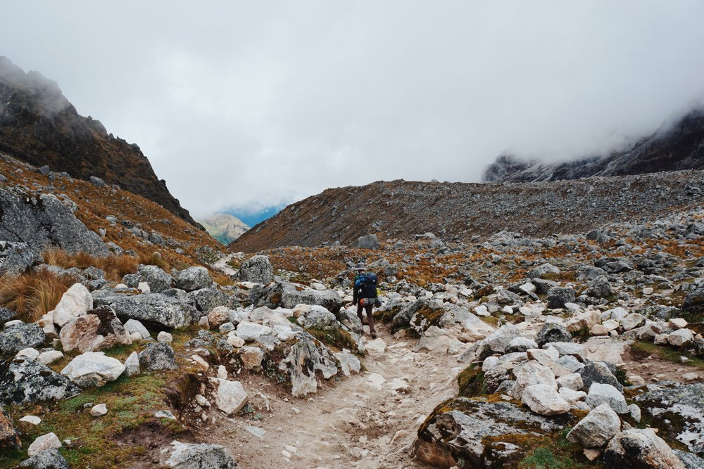 Day 1: Soraypampa to Chaulley.